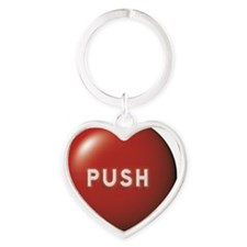 C-102 (push) Heart Keychain