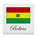 Bolivia - Flag Tile Coaster
