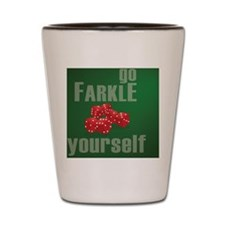 Farkle Yourself Mousepad Shot Glass