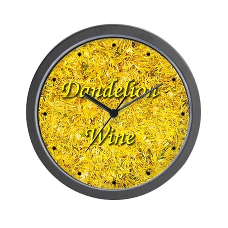 Dandelion Wine Wall Clock 4
