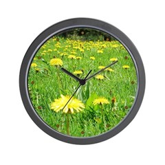 Dandelion Wall Clock 1