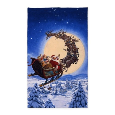 Christmas Rugs Mats - Indoor Christmas Decorations - The Home