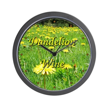 Dandelion Wine Wall Clock 1