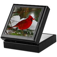 another Christmas Cardinal Keepsake Box