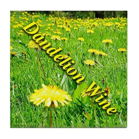 Dandelion Wine Tile Coaster 1