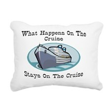 5 cruise Rectangular Canvas Pillow
