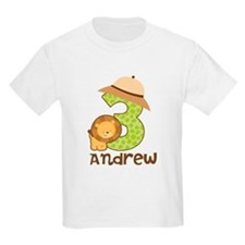 Personalized 3rd Birthday T-Shirt