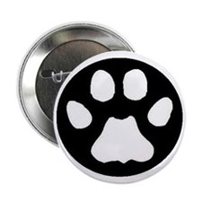 "cougar paw 2.25"" Button"
