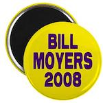 Bill Moyers 2008 (Yellow) Magnet