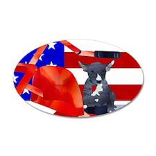 Patriotic Puppy Wall Sticker