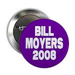 Bill Moyers 2008 Purple Button