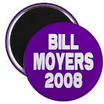 Bill Moyers 2008 Purple Magnet