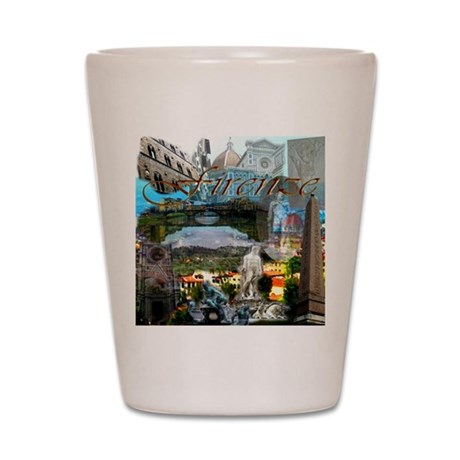 florence13a-10x10 Shot Glass