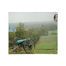 3-Gettysburg_Large Throw Blanket