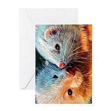 ferrets Greeting Card