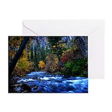 Logan river Greeting Card