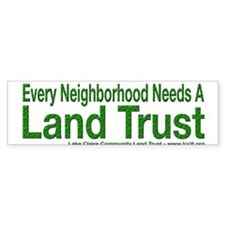 Every Neighborhood Needs a Land Trust Bumper Sticker