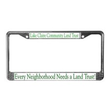 LCCLT License Plate Frame