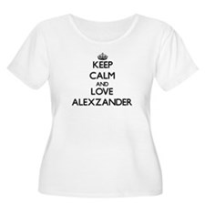 Keep Calm and Love Alexzander Plus Size T-Shirt