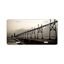 Grand Haven Full Res Aluminum License Plate