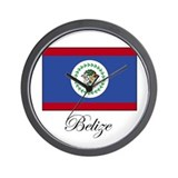 Belize - Flag Wall Clock