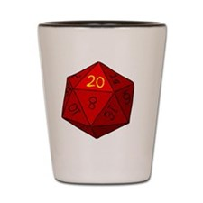 d20_golf_b Shot Glass