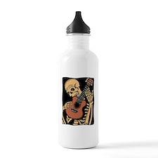 skullguitarcolor2 Water Bottle