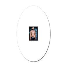 sean framed 20x12 Oval Wall Decal
