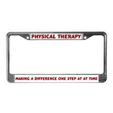 PT License Plate Frame License Plate Frame