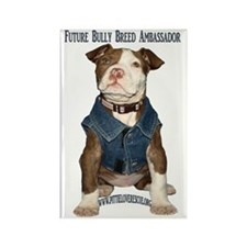 PuppyBullyBreed copy Rectangle Magnet