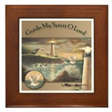 """Guide My Spirit O Lord"" Fine Art Framed Tile"