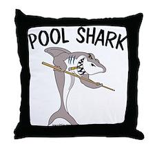 Pool Shark Throw Pillow
