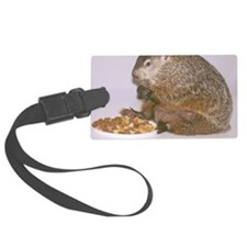 Groundhog Luggage Tag