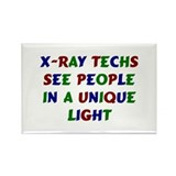 X-Ray Tech Rectangle Magnet