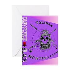 TASK FORCE-BlackSAS Greeting Card