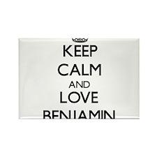 Keep Calm and Love Benjamin Magnets