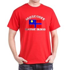 Muscogee Native Blood T-Shirt