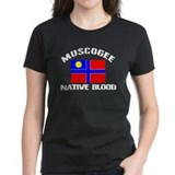 Muscogee Native Blood Tee