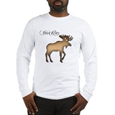 Park City Souvenir Moose Long Sleeve T-Shirt