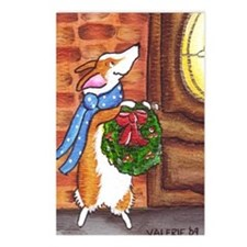 welcome christmas Postcards (Package of 8)