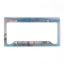 evans large framed print License Plate Holder