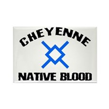 Cheyenne Native Blood Rectangle Magnet