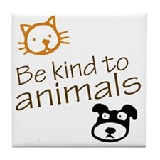 be kind2 Tile Coaster
