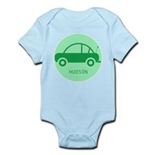 Green Toy Car Personalised Body Suit