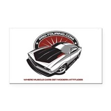 AAW-PRO-TOURING Rectangle Car Magnet