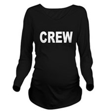 CREW Long Sleeve Maternity T-Shirt