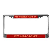 Mars Rover License Plate Frame