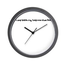Dont Stop Believing Wall Clock