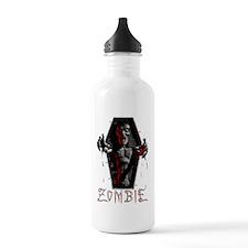 zombie_coffin02 Sports Water Bottle