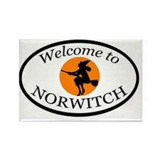 norwitch_final_dark Rectangle Magnet